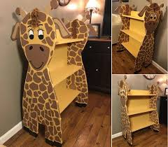 giraffe furniture. Handmade Giraffe Bookshelf Furniture E
