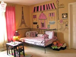 Parisian Bedroom Decor Childs Room With Paris Decorating Ideas With Regard To