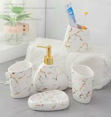 home garden 5pcs bathroom accessories