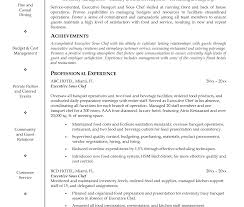 Astounding Sous Chef Resume Sample Free Samples Executive Junior ...