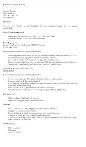 A Good Resume Beauteous Welders Resume Samples Welder High Quality Template Welding