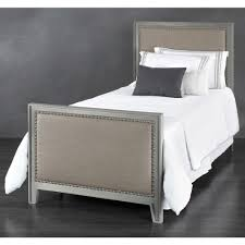 Avery Iron \u0026 Upholstered Trundle Bed by Wesley Allen | Humble Abode