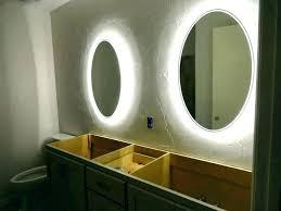Image Vanity Mirror Footaco Bathroom Mirrors With Lights Behind Footaco