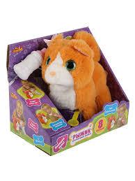 Интерактивный <b>котёнок</b> Рыжик 16 см Играем вместе 6541740 в ...