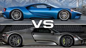 2018 porsche 918. perfect 2018 2017 ford gt vs 2016 porsche 918 spyder inside 2018 porsche s