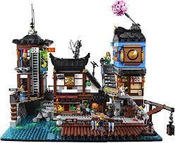 Amazon.com: LEGO The NINJAGO Movie NINJAGO City Docks 70657 Building Kit  (3553 Pieces) (Discontinued by Manufacturer): Toys & Games