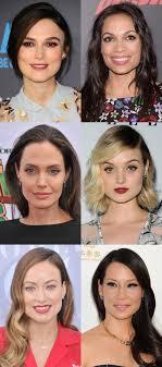 square face shape celebrity exles