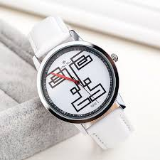 compare prices on interesting watches for men online shopping buy new funny interesting face pattern men women quartz watch simple casual leather strap watch unisex watch
