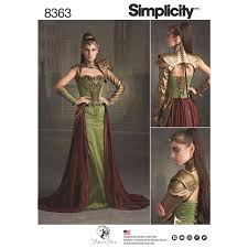 Costume Sewing Patterns Stunning Misses Fantasy Ranger Costume Simplicity Sewing Pattern 48 Sew