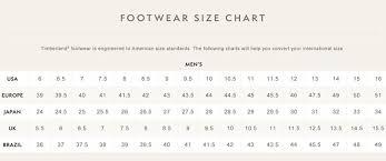 Timberland 6 Inch Size Chart Bedowntowndaytona Com