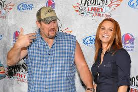larry the cable guy wife. Contemporary Guy Larry The Cable Guy With Wife Cara Whitney With The Wife A