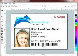 Id Cards Templates Free Downloads Employee Card Template Corporate Id Card Template Vertical Id Card 4