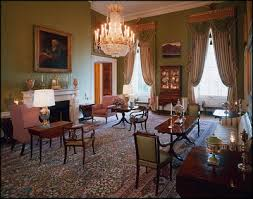 White house floor1 green roomjpg Floor Plan The Property Is Owned By The National Park Service And Is Part Of The Presidents Park In 2007 It Was Ranked Second On The American Institute Of Democratic Underground The White House Welcomes President Barack Obama Family pics