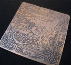 Image result for etching on metal