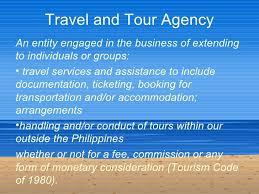 Travel Agency Description Under Fontanacountryinn Com