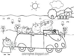 Coloring Pages Pig Pig Coloring Pages Free Coloring Pages Peppa Pig