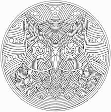 Small Picture Free Printable Abstract Coloring Pages For Adults Mandala 713