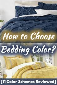 how to choose bedding color 11 color