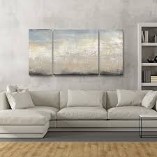 >studio 212 tidal rush canvas 30 inch x 60 inch triptych textured  overstock online shopping bedding furniture electronics jewelry clothing more