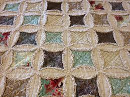 denim cathedral window rag quilt | Cathedral Windows Block with a ... & denim cathedral window rag quilt | Cathedral Windows Block with a new  twist. It's a Adamdwight.com