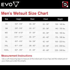 Evo Elite Blaze 3mm Full Scuba Wetsuit Mens