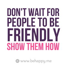 Friendly Quotes Gorgeous 48 Best Quotes About Friendly Friendly Quotes QuotesOnImages