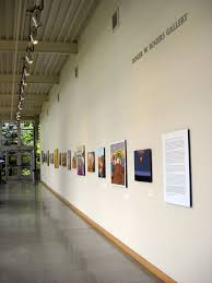 studio art university gallery view