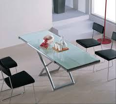 extending glass table