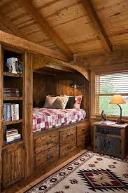 best 25 log cabin bedrooms ideas