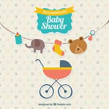Cute Baby Shower Invitation Vector  Free DownloadBaby Shower Pictures Free