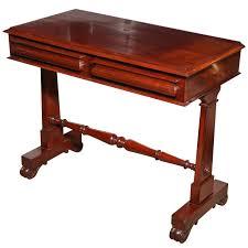 mahogany hall table. Mid 19th Century English, Mahogany Hall Table For Sale O