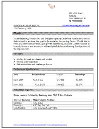 Free Resume Format Sample Download Resume Format Resume Format For  Experienced Accountant Free Download ...