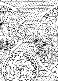 Stress Reliefoloring Pages Printable Mandala Pdf Flowersat Rare