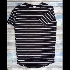Striped Lularoe Irma Tunic Size Xxsmall Nwt