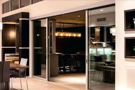 triple sliding glass door multi slide patio doors cost medium size of residential stacking triple sliding