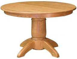 harper s ferry round oak dining table