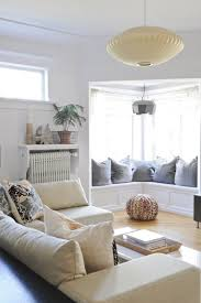 Small Living Room With Bay Window Decorations Small Living Room With Small Window Has Stained