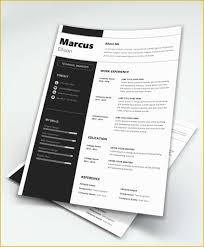 Contemporary Resume Templates Free Word Of Free Modern Resume