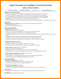 10 Qualifications For A Resume The Stuffedolive Restaurant