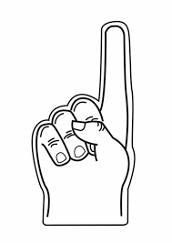 foam finger clipart. number 1 hand cliparts #2878307 foam finger clipart i