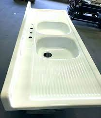 re enamel cast iron sink enameled cast iron sink refinish standard medium size of kitchen and