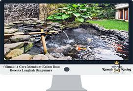 Agar cadangan air tanah selalu tersedia, diperlukan upaya konservasi tanah dan air. Simak 4 Cara Membuat Kolam Ikan Beserta Langkah Bangunnya