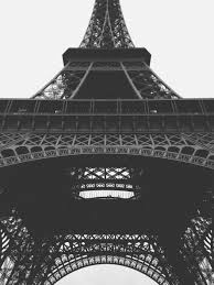famous architectural photography. Wonderful Famous Black And White Architecture Structure City Eiffel Tower Paris France  Europe Metal Landmark Sightseeing Attraction With Famous Architectural Photography