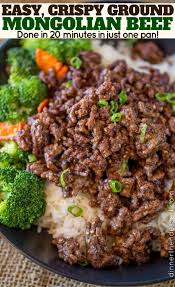 asian ground beef recipes. Plain Recipes Ground Beef With Broccoli And Carrots Over Rice To Asian Ground Beef Recipes E