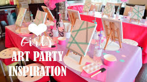 home design kids birthday party ideas girls art painting you party ideas for girls