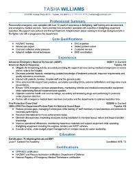 Emt Resume Sample Sample Paramedic Resume Emt Resume Sample Hirescore New Emt 16