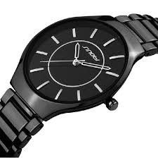 aliexpress com buy sinobi luxury brand black stainless steel sinobi luxury brand black stainless steel strap watches men analog display men s quartz watch men