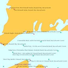 Falmouth Heights Nantucket Sound Massachusetts Tide Chart