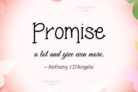 Promise Quotes And Sayings Images Pictures CoolNSmart Unique Promise Quotes