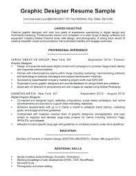 Visual Designer Resume Resume Graphic Designer Sample Download
